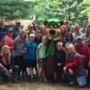 Borkovetz family reunion at the park June, 2015.