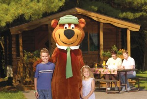 outdoor lodging photo of Yogi Bears Bungalows